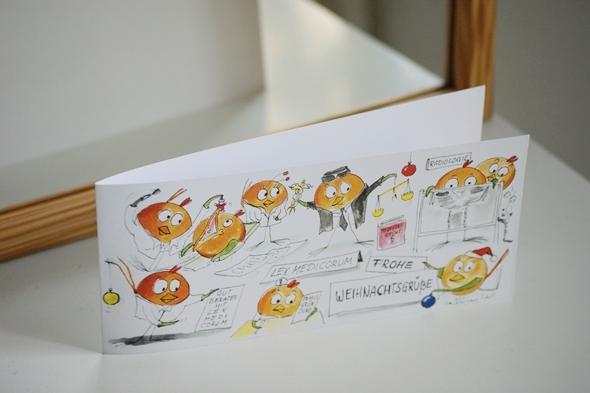 Individuelle Weihnachtskarten.Individuelle Weihnachtskarten Aus Leipzig Ballbirds