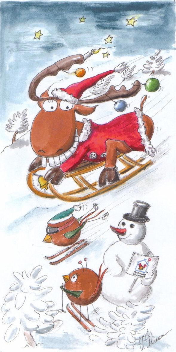 indviduelle Weihnachtskarte für Firmen_Uwe Schürmann Leipzig