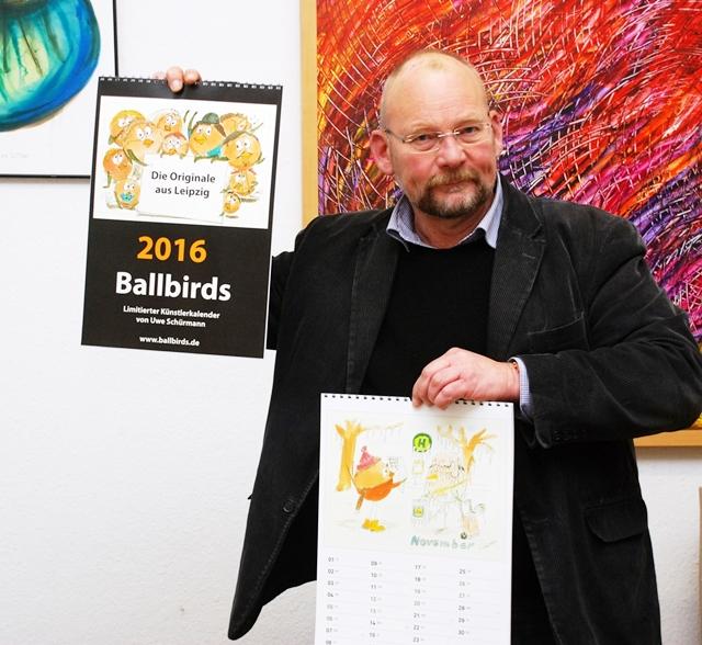 Ballbird-Kalender 2016 von Uwe Schürmann