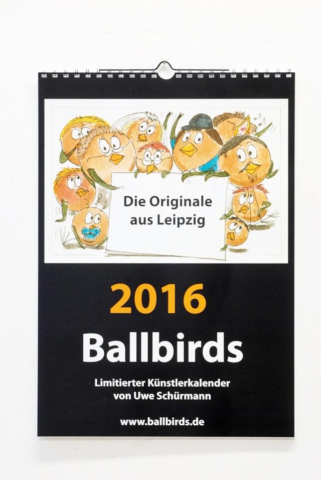 Ballbird-Kalender 2016