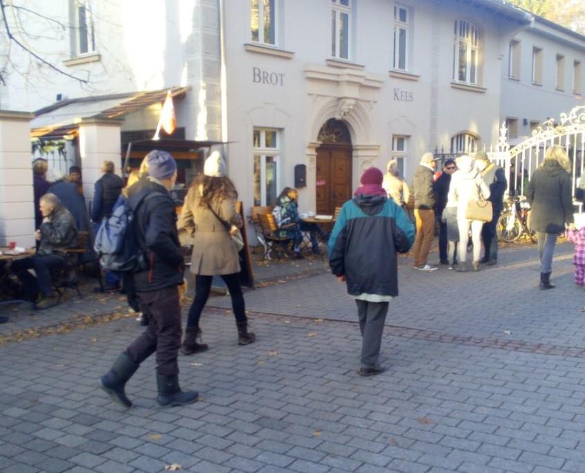 Adventsmarkt Brot & Kees | Weihnachtsmarkt im Kees'schen Park, 27.11.2016