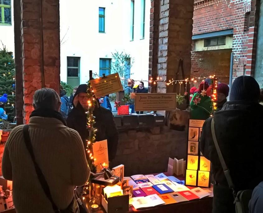 Weihnachtsmarkt im Gohliser Wannenbad, 04.12.2016